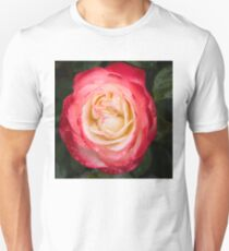 Rose and Rain - Pinks and Creams and Whites Unisex T-Shirt