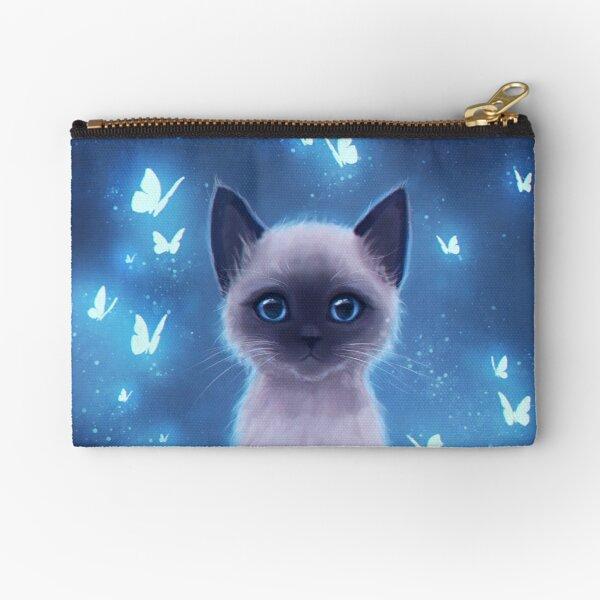 Siamese kitten Zipper Pouch