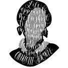 Charlotte Bronte Kunst Zitat von Love Lily