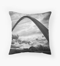 Hermes path Throw Pillow