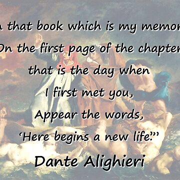 In That Book Which Is My Memory - Dante by CrankyOldDude