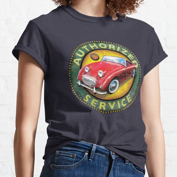 Gift Present Classic Car Austin British A-Series Womens T-Shirt x14 Colours