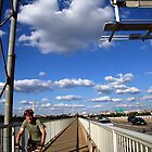 Crossing the 14th Street Bridge by Cora Wandel