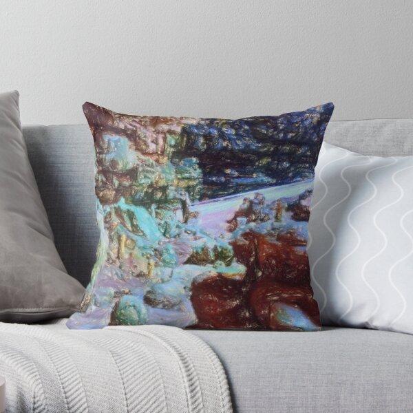 Grotte di castellana Throw Pillow