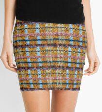 Cartoon Knitted Patchwork Mini Skirt