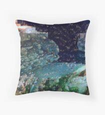 il mare nella notte  Throw Pillow