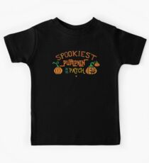 Halloween T-Shirts & Gifts: Spookiest Pumpkin In The Patch Kids Tee