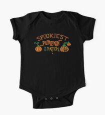 Halloween T-Shirts & Gifts: Spookiest Pumpkin In The Patch One Piece - Short Sleeve