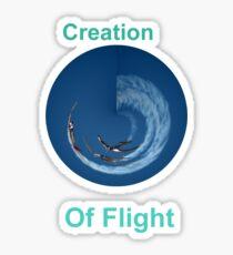Creation Of Flight Design Sticker
