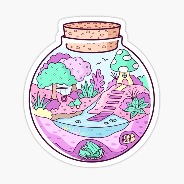 Pocket Fairyland Sticker