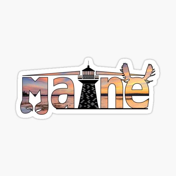 Maine  Sticker
