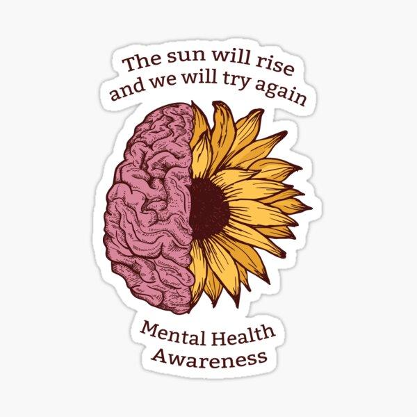 Mental Health Awareness Sticker
