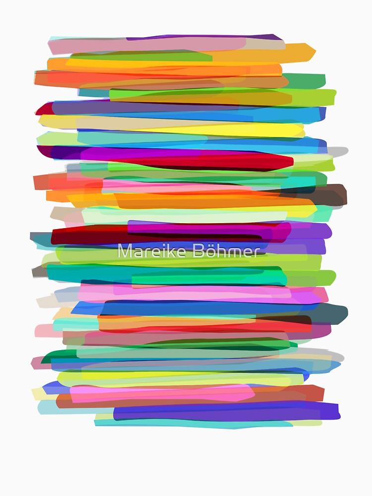 Colorful Stripes 1 von MarBoe