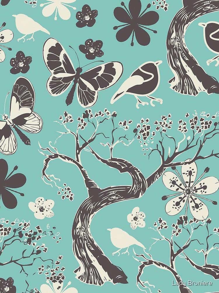 Cherry Tree Elegante Art by alinebruniere