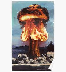 Super Feuer A-Bombe Poster
