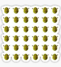 Pegatina Hoja de Shrek Emojis | 36 Pack SÓLO MEDIANO O GRANDE