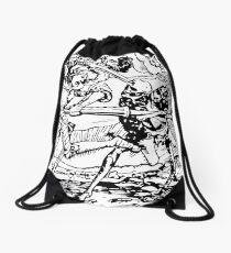 Dance of Death II (Hans Holbein's) Drawstring Bag