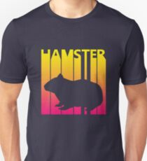 Retro 1980s Hamster Unisex T-Shirt