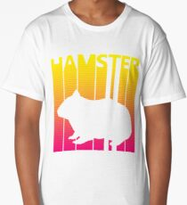 Retro 1980s Hamster Long T-Shirt