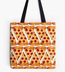 Pizza Emoji Muster Tote Bag