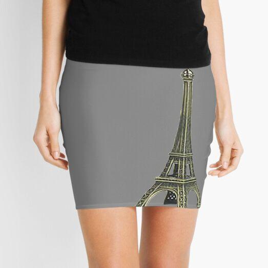 Eiffel Tower Mini Skirt