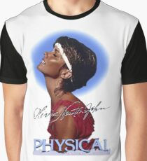 Olivia Newton-John - Let's Get Physical Graphic T-Shirt