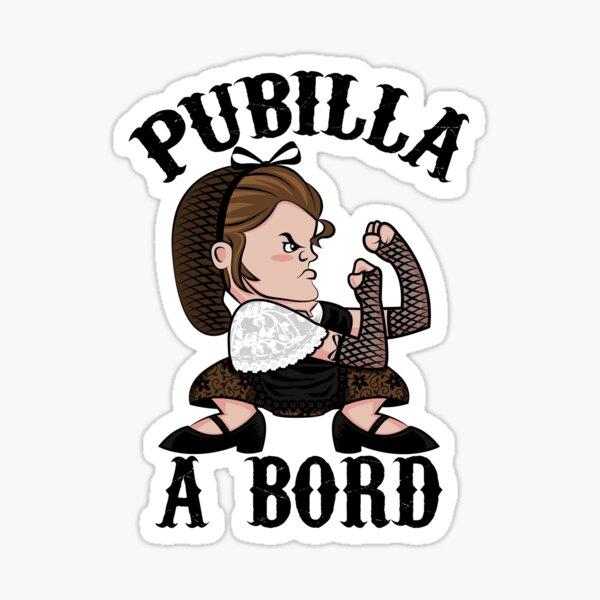 PUBILLA A BORD Pegatina