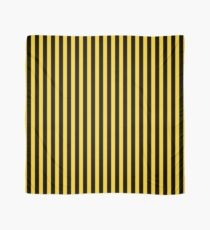 Yellow and Black Honey Bee Vertical Deck Chair Stripes Scarf