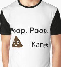 Poop. Poop. Graphic T-Shirt