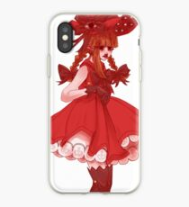 Red Witch Wadanohara iPhone Case