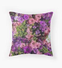 Pattern di fiori Throw Pillow