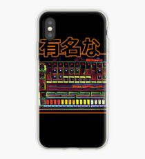 "Tr-808 - Drum Machine Analog ""Famous"" in japanese  iPhone Case"