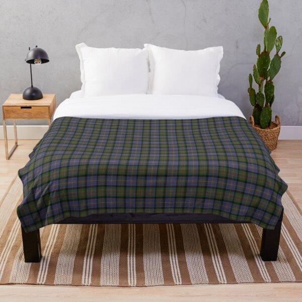 Cameron of Erracht Original Scottish Tartan Throw Blanket