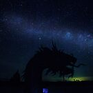 Sea Serpent and the Milky Way by photosbyflood