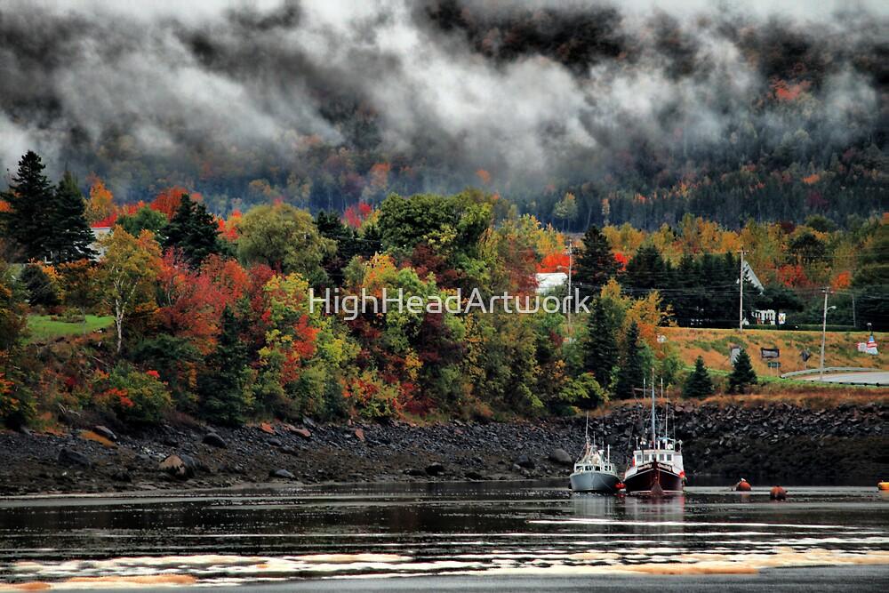 Fall Mist by HighHeadArtwork