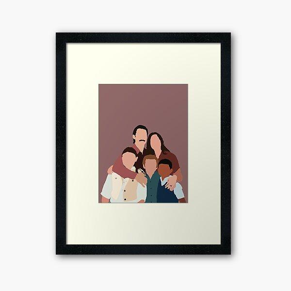 This Is Us Family  Framed Art Print