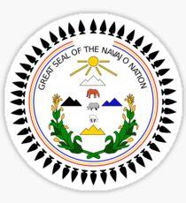 Grand Sceau de la Nation Navajo Sticker