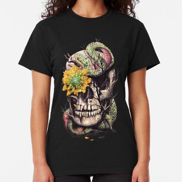 Snake and Skull Classic T-Shirt