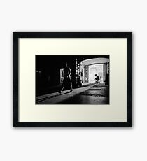 Back Stage At Teatro Opera Bellini Catania Framed Print