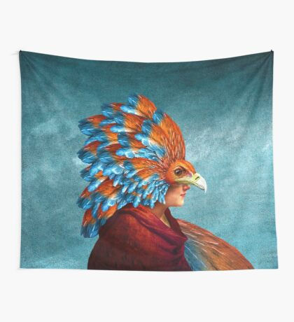 Free-Spirited Wall Tapestry