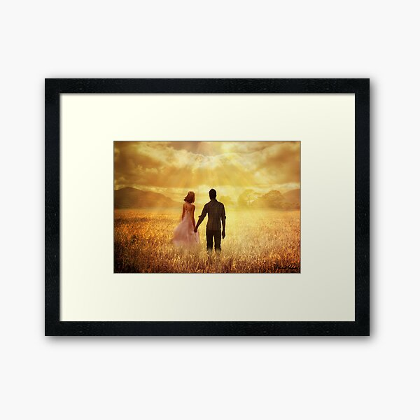 Fields Of Gold Framed Art Print