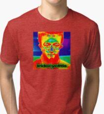 iridocyclitis vine brockhampton iridescence Tri-blend T-Shirt