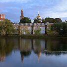Convent Pond by Mikhail Kovalev
