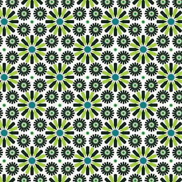 Scandinavian Style Simple Green Patter by bza84