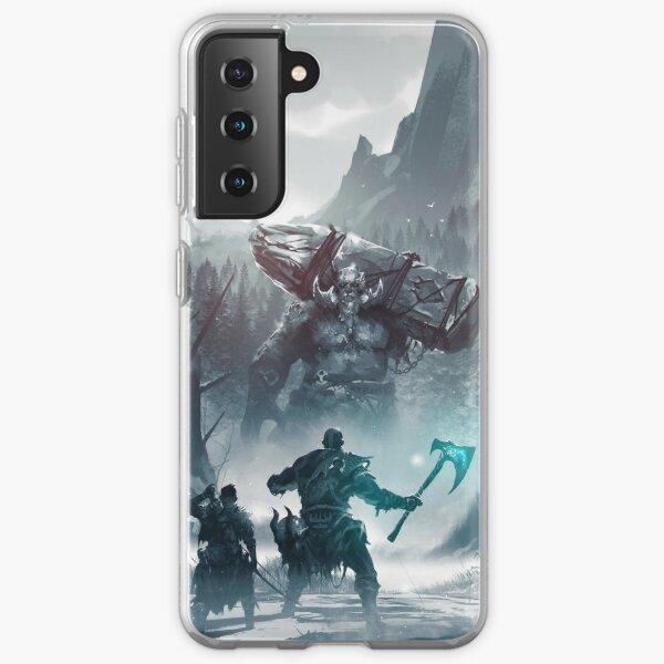 Dios de la guerra - Kratos Funda blanda para Samsung Galaxy