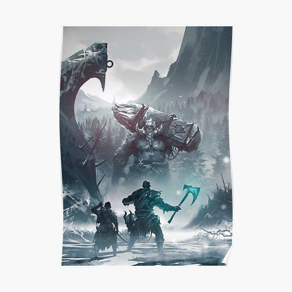 God Of War - Kratos Poster
