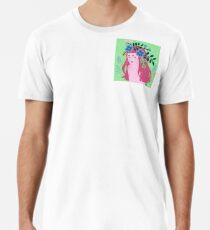Green Flower Premium T-Shirt