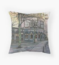 The Crown Hotel, Harrogate, North Yorkshire Throw Pillow