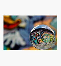 Graffiti Ball 1 Photographic Print