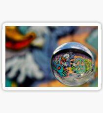 Graffiti Ball 1 Sticker